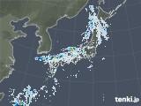 雨雲レーダー(2021年08月22日)