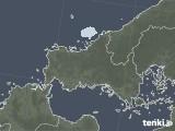 2021年08月29日の山口県の雨雲レーダー