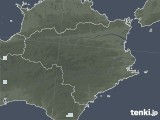 2021年08月29日の徳島県の雨雲レーダー