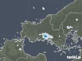 2021年08月30日の山口県の雨雲レーダー