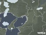 2021年09月01日の大阪府の雨雲レーダー