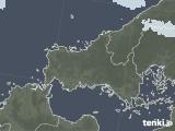 2021年09月01日の山口県の雨雲レーダー