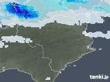 2021年09月02日の徳島県の雨雲レーダー