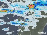 2021年09月02日の熊本県の雨雲レーダー
