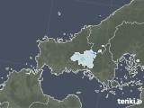 2021年09月06日の山口県の雨雲レーダー