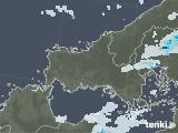2021年09月08日の山口県の雨雲レーダー