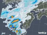 2021年09月10日の九州地方の雨雲レーダー
