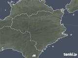 2021年09月10日の徳島県の雨雲レーダー