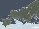 2021年09月11日の山口県の雨雲レーダー
