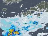 2021年09月12日の九州地方の雨雲レーダー