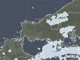 2021年09月12日の山口県の雨雲レーダー