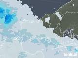 2021年09月13日の山口県の雨雲レーダー