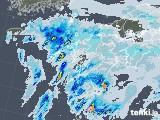 2021年09月14日の九州地方の雨雲レーダー