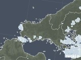 2021年09月15日の山口県の雨雲レーダー