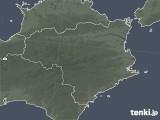 2021年09月19日の徳島県の雨雲レーダー