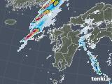 2021年09月21日の九州地方の雨雲レーダー