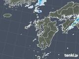 2021年09月22日の九州地方の雨雲レーダー