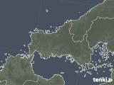 2021年09月22日の山口県の雨雲レーダー