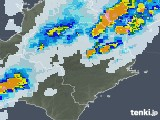 2021年09月22日の徳島県の雨雲レーダー