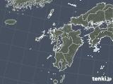 2021年09月23日の九州地方の雨雲レーダー
