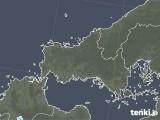 2021年09月23日の山口県の雨雲レーダー