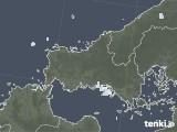 2021年09月26日の山口県の雨雲レーダー