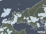 2021年09月28日の山口県の雨雲レーダー