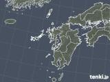 2021年10月02日の九州地方の雨雲レーダー