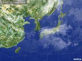 2015年03月07日の気象衛星
