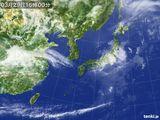 2015年03月29日の気象衛星