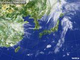 2015年05月04日の気象衛星