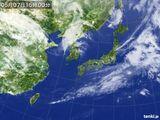 2015年05月07日の気象衛星