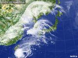 2015年05月11日の気象衛星