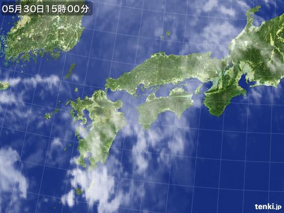 実況天気図(2015年05月30日)