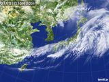 2015年07月01日の気象衛星