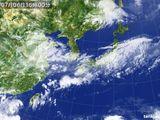 2015年07月06日の気象衛星