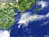 2015年07月07日の気象衛星