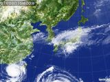 2015年07月08日の気象衛星