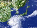 2015年07月10日の気象衛星