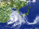 2015年07月11日の気象衛星