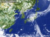 2015年07月17日の気象衛星
