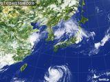 2015年07月24日の気象衛星