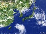 2015年07月25日の気象衛星