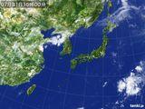 2015年07月31日の気象衛星
