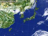 2015年08月03日の気象衛星