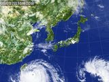 2015年08月07日の気象衛星