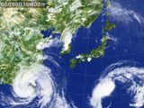 2015年08月08日の気象衛星