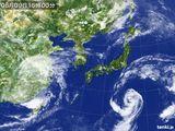 2015年08月09日の気象衛星