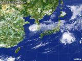 2015年08月11日の気象衛星