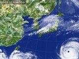 2015年08月21日の気象衛星